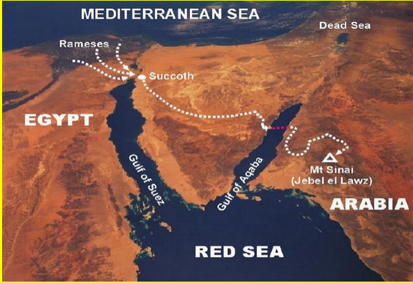 et si Sion était la mecque et fils disrael étaient arabeS Sinai_arabie