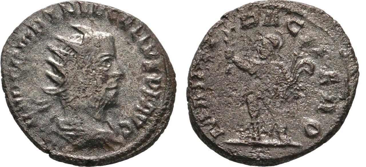 Antoniniano de Treboniano Galo. MARTI PACIFERO Tgalo_antioquia