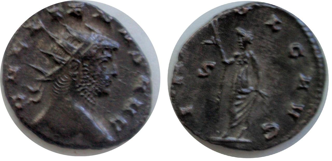 Antoniniano de Galieno. INDVLG AVG.  Anv2