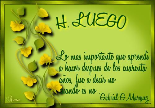 Hojas con Frase HASTA_LUEGO