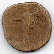 Sestercio de Marco Aurelio. IMP VIIII COS III P P - S C. Aequitas estante a izq. Ceca Roma. Mon014r