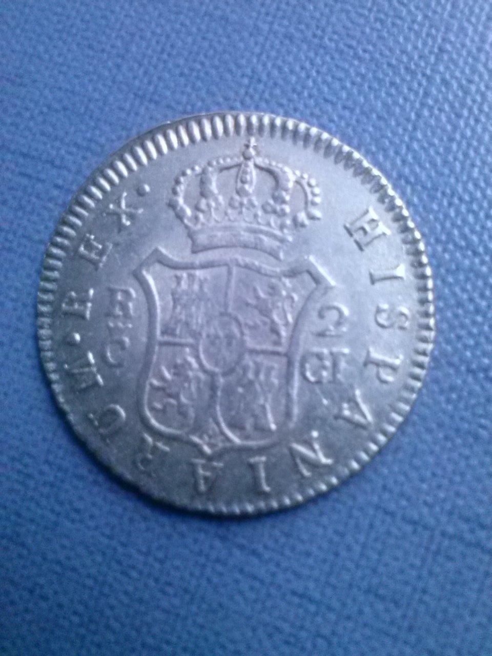 2 reales 1811 F VII Cadiz CAM00451