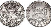 """8 reales """"columnarios"""" 1768.  Carlos III. Méjico. - Página 2 Image"""