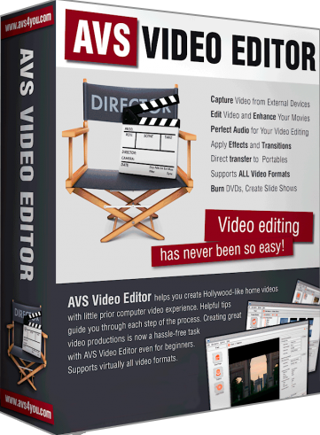 AVS Video Editor 8.0.2.302 Portable Image
