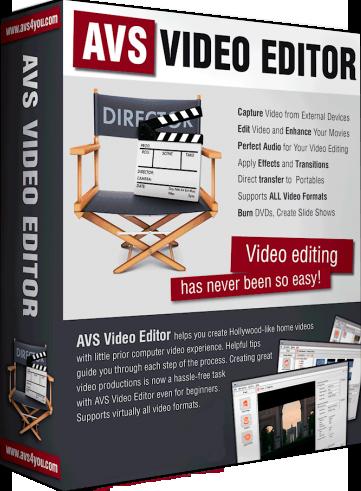 AVS Video Editor 8.0.2.302 Multilingual Image
