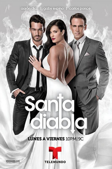 შევაფასოთ სერიალები! - Page 6 Santa_Diabla_Poster_Telemundo_Produciton