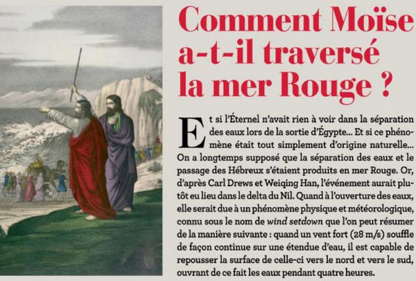 Moise et la mer Rouge Image