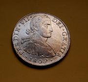 8 Reales 1809 Fernando VII. Méjico T.H. S-l1600