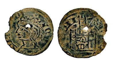 Dinero de Alfonso XI emisión de 1330. Burgos (Falso de época) IMG_1154