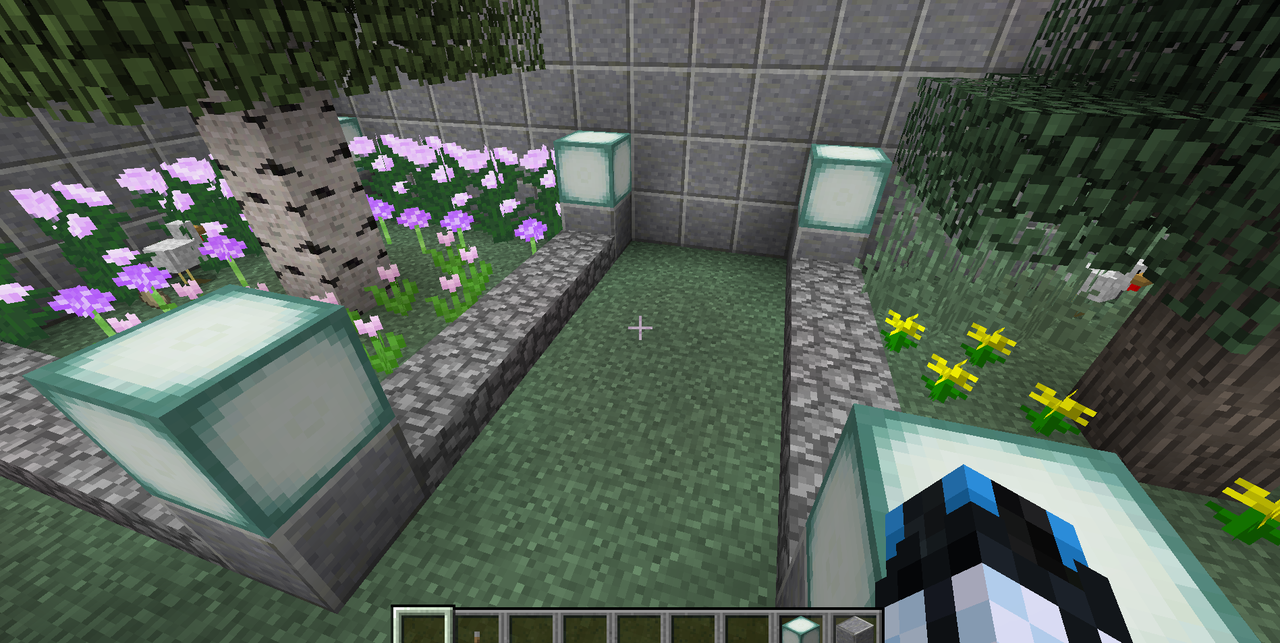 Minecraft Creations Chicken_Yard_Castle_2