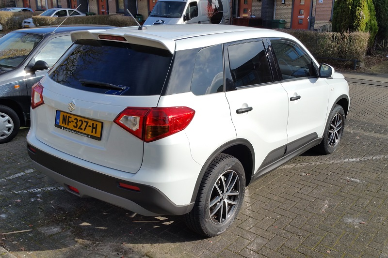 My 2017 Black & White edition from Holland Vitara_2017_2