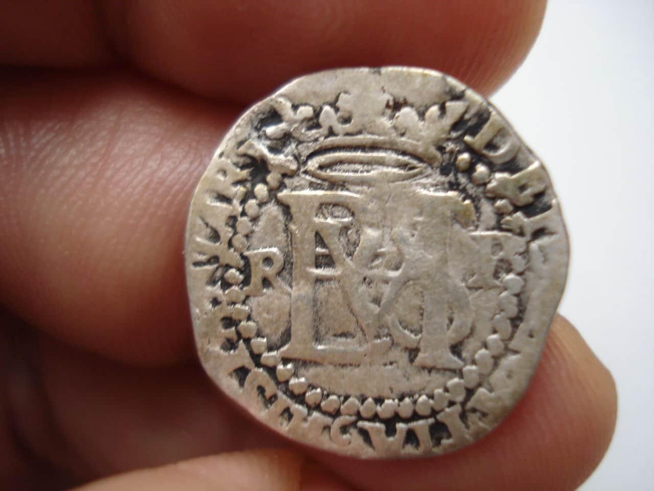 1/2 real Felipe II Potosí DSC03928