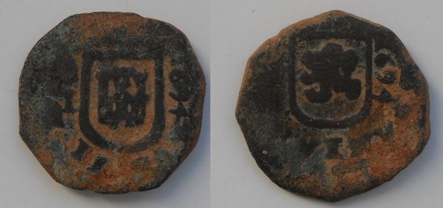 2 maravedies Carlos II  ceca de Linares- 1694 Chavo_linares_4_80
