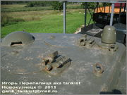 """Советский средний танк Т-34, завод № 183, III квартал 1942 года, музей """"Линия Сталина"""", Псковская область 34_183_049"""