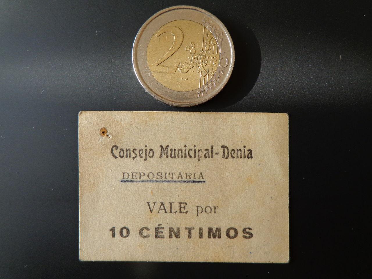 10 Centimos Denia (Alicante), 1937 DSC00443