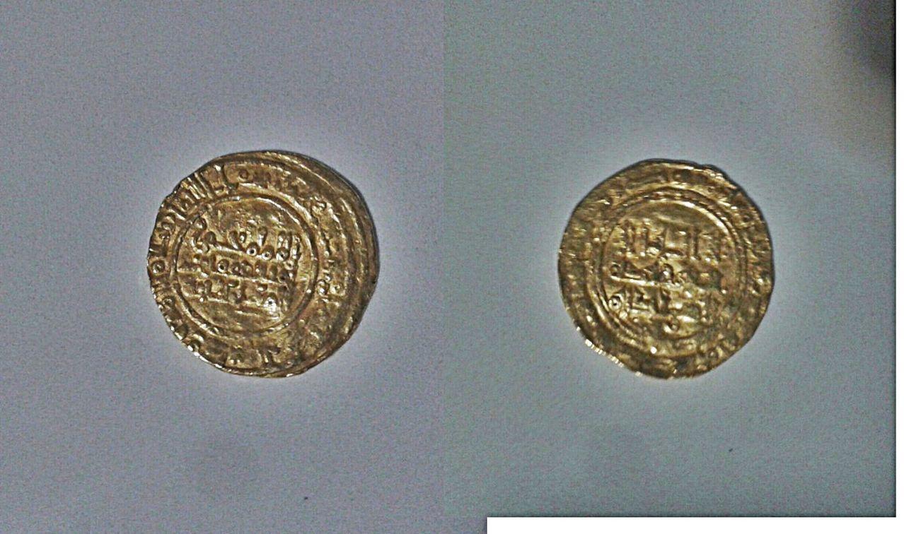 Dinar de Yahyá   412-413 y 416-417, califato de Cordoba. Mr1