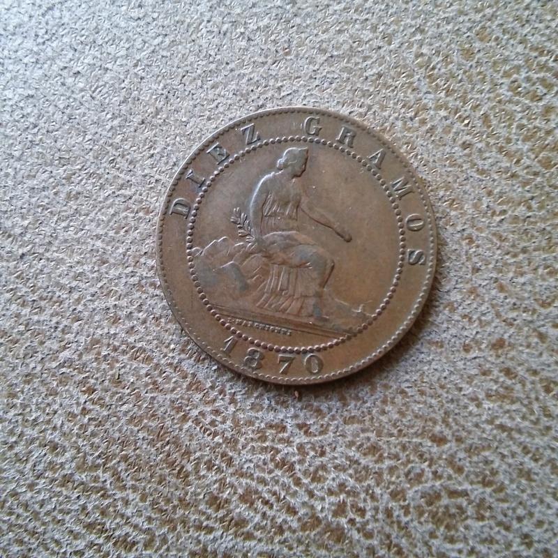 10 centimos de 1870 con una sola estrella 20170802_132504