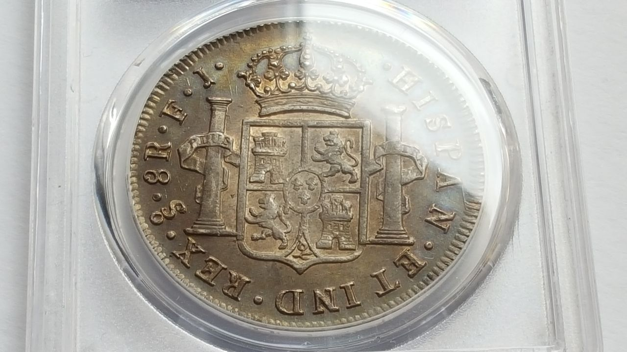 8 reales 1809  Fernando VII  Chile 20160202_143617