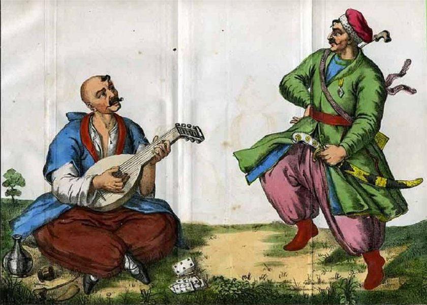 Célébration de Zaporozhye Cosaques, 17e siècle 76_7