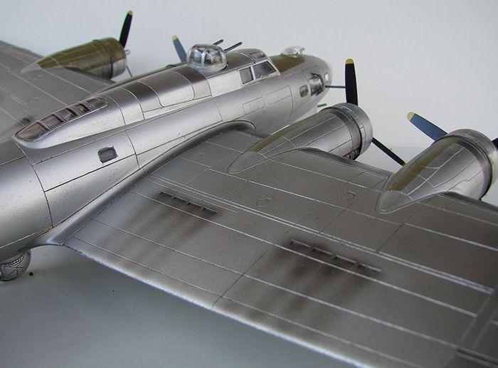 Do Božića B-17G, Academy, 1/72 DSC04366