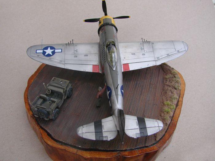 P-47D-30RE Thunderbolt, Revell, 1/72 DSC03169