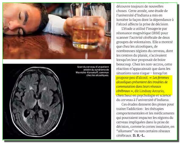 le Vin preuves scientifiques : christianisme détruit vos neurones Alcool3