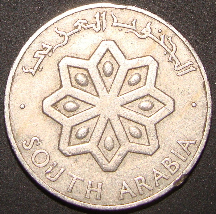 25 Fils. Arabia de Sur (1964) RPY_25_Fils_1964_anv