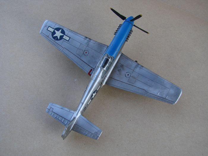 Mustang x2 P-51B Revell & P-51D Tamiya, 1/72 DSC09768