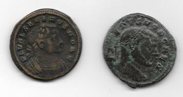 1/4 de Nummus de Severo II. GENIO POPVLI ROMANI. Siscia Thump_9757224severo-ii