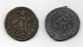 1/4 de Nummus de Severo II. GENIO POPVLI ROMANI. Siscia Thump_9757225severo-ii-rv