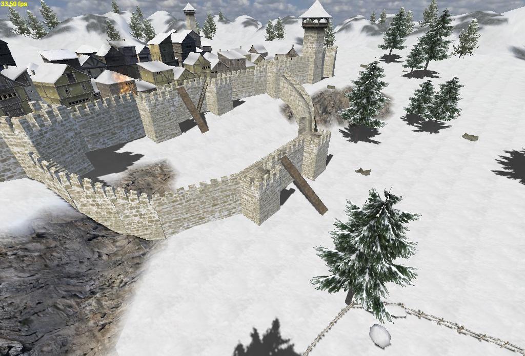 [SP][ES] Towers, walls and ladders 5113793khudan