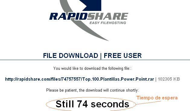 Manual de descarga de Rapidshare 822185rapidsharet