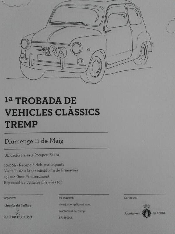 11 Maig Trobada i 50ª edició fira de TREMP.  219176515097391015211137370
