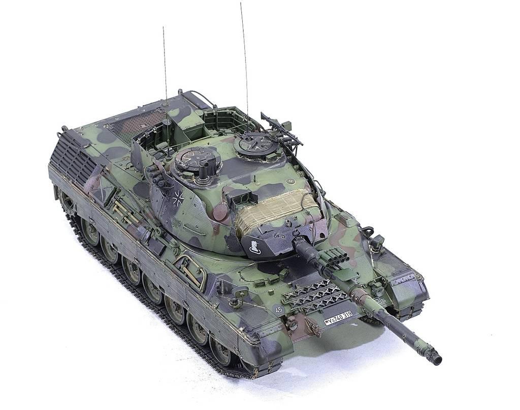 Leopard 1A5 Meng 1/35 JzUbN