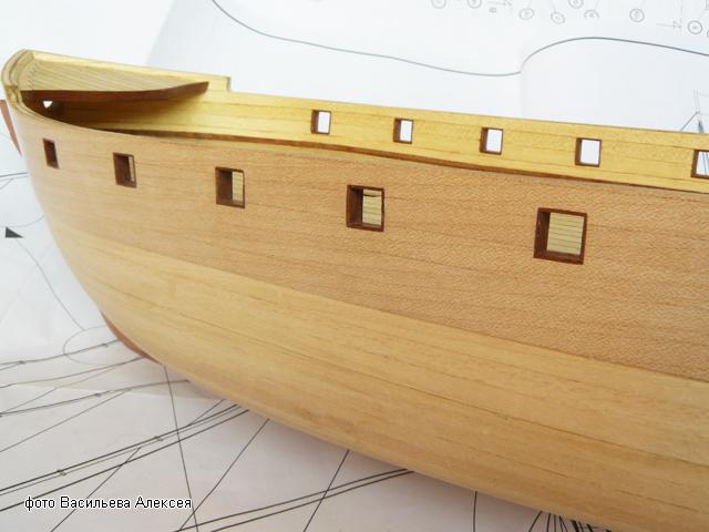 """Собирательный образ пиратского корабля """"CORSAIR"""" масштаб 1:80 фирмы OCCRE KJy71"""