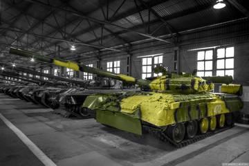 Т-80У («Объект 219АС») - основной боевой танк YVM2H