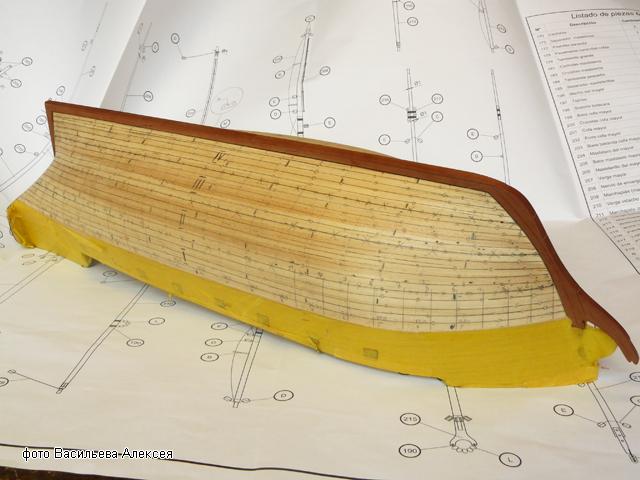 """Собирательный образ пиратского корабля """"CORSAIR"""" масштаб 1:80 фирмы OCCRE XnKay"""