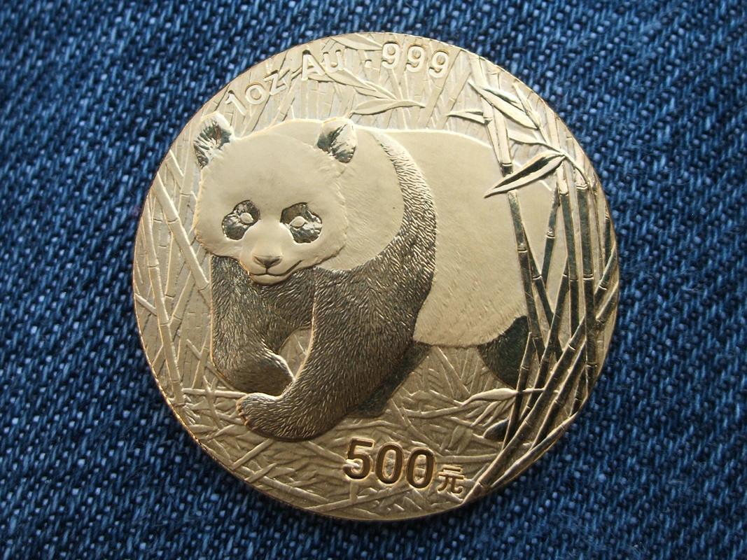 500 Yuan. China. 2002 004