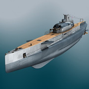 3D images of The Surcouf Surcouf_3_D