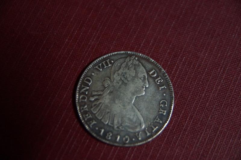 8 Reales 1810. Fernando VII. Popayán. Reproducción. 818