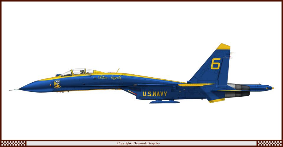 "F/A-22A  1/48  Hasegawa...""σε οσους αρεσουμε, για τους αλλους δεν θα μπορεσουμε!!!"" - Σελίδα 2 F006_Su27_Blue_Angels_1"