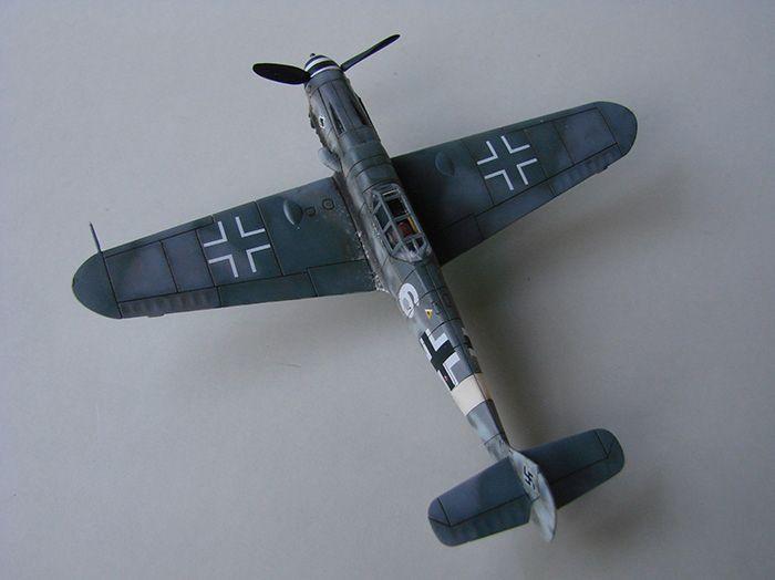 Messerschmitt Bf-109G-6, Airfix, 1/72 DSC05052