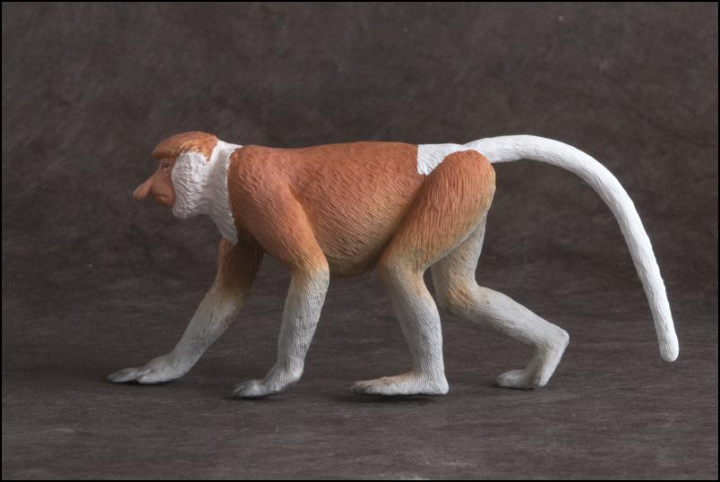 The MOJÖ FUN Proboscis monkey: A walkaround by Kikimalou Proboscismonkey_MOJO-8.jpg_original