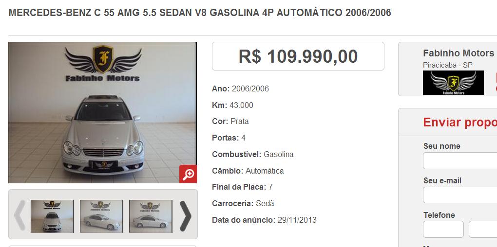 W203 C55 AMG 2006 - R$ 99.990,00 (VENDIDA) Screenshot_146