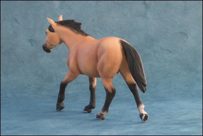 The MOJO FUN 2012 Buckskin Quarter horse walkaround by Kikimalou Buckskin_Quarter_horse_9