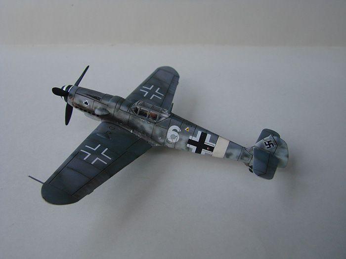 Messerschmitt Bf-109G-6, Airfix, 1/72 DSC05046