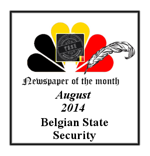 Newspaper of the Month/Year archive. Badge_newspaper_of_the_month_August_2014