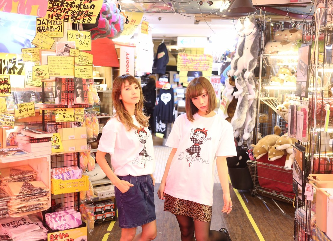 SCANDAL × Village Vanguard Collaboration Goods C5_E7a_WSUo_AAKhso