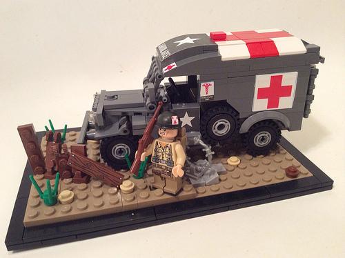 Dodge WC54 Ambulance  -Διόραμα 1/35 Wc54
