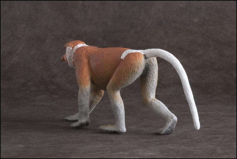 The MOJÖ FUN Proboscis monkey: A walkaround by Kikimalou Proboscismonkey_MOJO-7.jpg_original